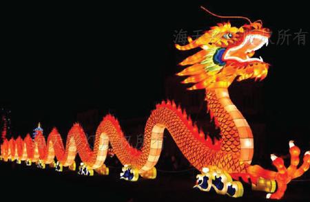 Dragon LED Light Display